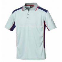 Tricou polo Athletic gri