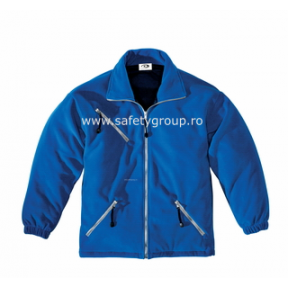 Geaca sport Microfleece albastra