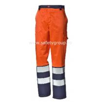 """Pantaloni """"Velvet"""" bicolori - COD 34933V"""