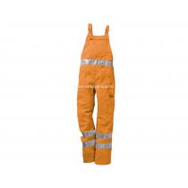 "Salopeta cu pieptar ""Mistral"" portocalie - COD 34941"