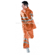 "Pantaloni ""Glamour"" portocalii - COD 35082"