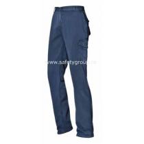 """Pantaloni """"Supervisor"""" albastri - COD 65303"""
