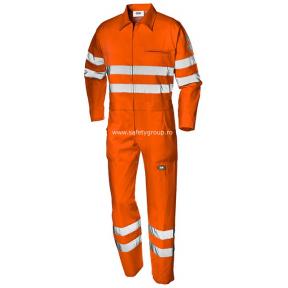 Combinezon de protectie Velvet portocaliu