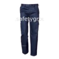 Pantaloni de salopeta Symbol Blu